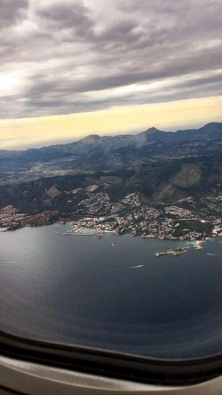 Vista aerea Mallorca