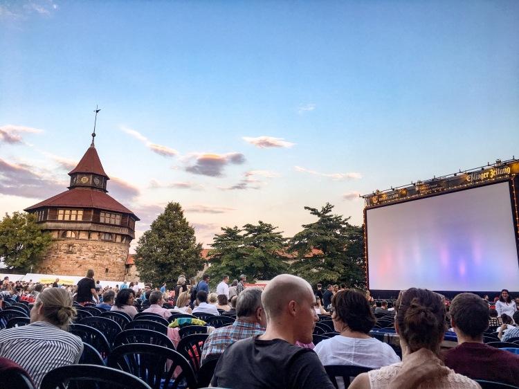 Kino auf der Burg Esslingen