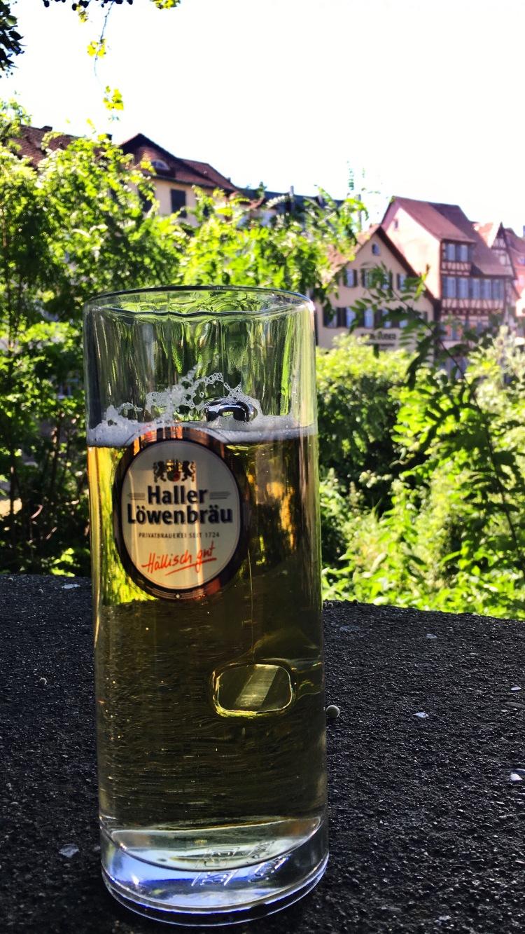 Cerveza alemana Schwäbisch Hall Germany