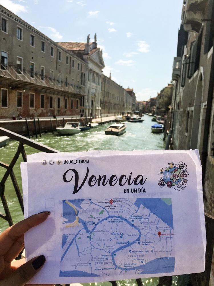 Itinerario Venecia