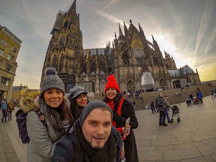 Familia en Colonia Alemania