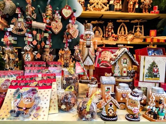 manualidades mercado navideño