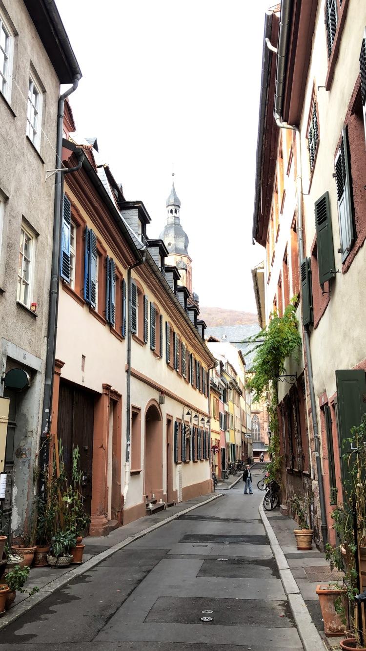 Casco viejo Heidelberg