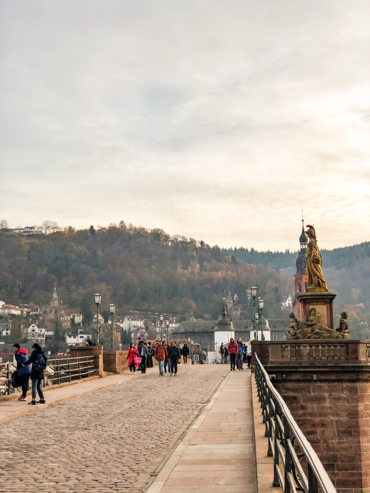 Puente antiguo Heidelberg